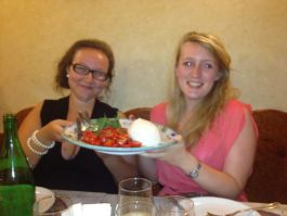 Buffalo mozzarella the size of your head, Naples