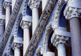 Detail from Pisa's magnificent Duomo
