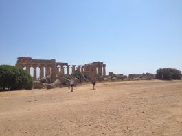 Amazing temples at Selinunte, Sicily