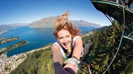 Stray - AJ Hackett Bungy, Queenstown