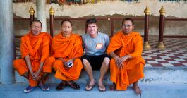 Monks - Laos