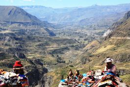 View of colca canyon