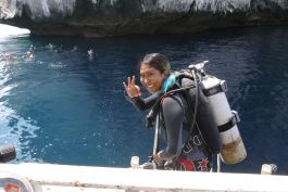 Diving & Marine Conservation in Thailand