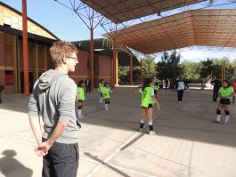 Volleyball in Bolivia