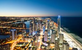Surfer's Paradise at night