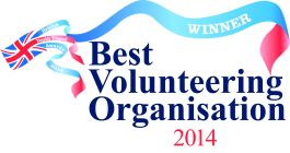 Best volunteering organisation award from the british youth travel awards 2014