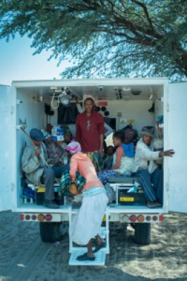 Transporting patients to the clinic