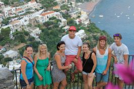 Spectacular views of the Amalfi coast