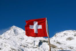 The iconic Swiss flag is a big plus, literally.