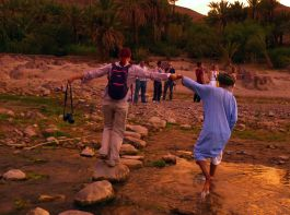 Stay in a remote oasis and share life with its people
