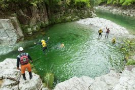 Canyoning in the Middle Altas