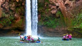Trekking and canyoning in Ouzoud waterfalls