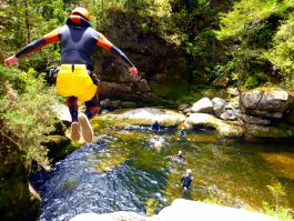 Canyoning in the Middle Atlas