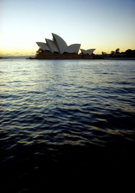 Sunset with the Sydney Opera House