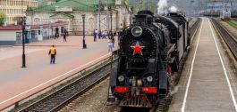 Steam train journey to Leo Tolstoy real estate