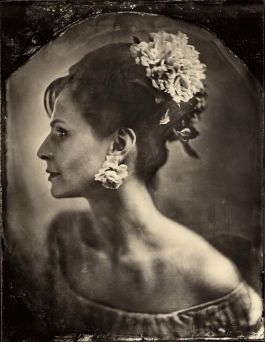 An Ambrotype photoshoot