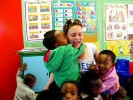 Volunteer in african schools development 10