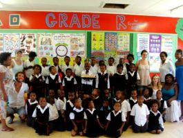Volunteer in african schools development 1
