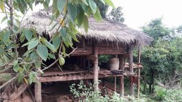 Karen tribe house