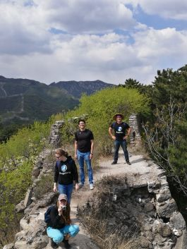 Aupairia on the Great Wall