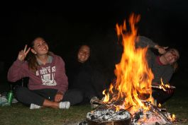 Camp fire girls